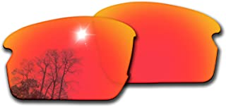 Bsymbo Lenses/Rubber Kits Replacement for Oakley Flak 2.0 OO9295 Sunglass - Multiple Options