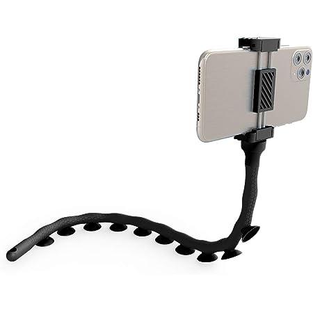 Monkeystick Schwarz Biegsamer Selfie Stick Für Handy Elektronik