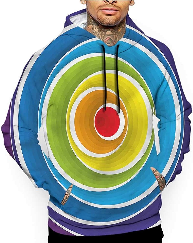 Clayee Hoodies Sweatshirt Pockets Abstract,Scandinavian Style Doodle,Sweatshirts for Women