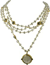 San Benito Magdalena Necklace 6mm Gold + Black Diamond - VSA - Virgins Saints Angels Jewelry