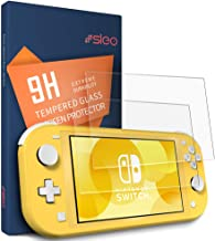 SLEO [2 Pack] Nintendo Switch Lite Screen Protector,9H Hardness Premium Clear Scratch-Resistant Bubble-Free Tempered Glass Screen Protector Film for Nintendo Switch Lite 2019