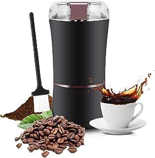Elektrisk kaffekvarn, professionell 400 watt / 3 uns elektrisk kaffekvarnmaskin, justerbar malning med rostfritt stålblad ...