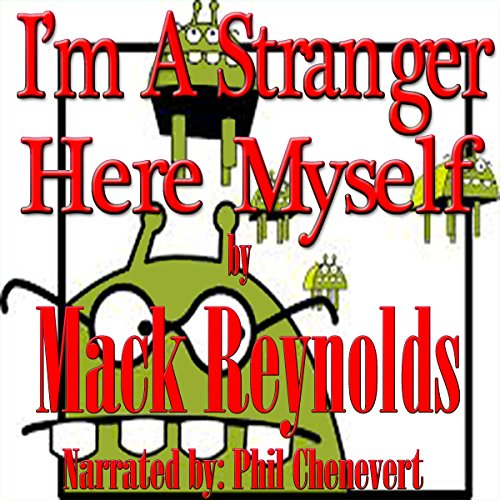 I'm a Stranger Here Myself audiobook cover art