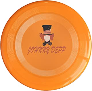 EVALY Famous Movie Star Mad Hatter Poster 150 Gram Ultimate Sport Disc Frisbee Yellow