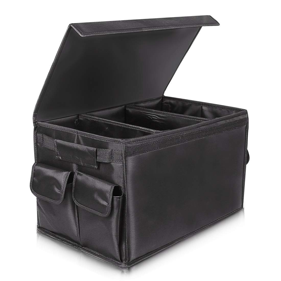 Car Boot Organiser Folding Car Organiser Trunk Organizer Comtechlogic/® CM-4075 2 In 1 Shopping Tidy Heavy Duty Collapsible Foldable Storage Auto Car Storage Organiser Foldable Storage Boot Organiser Box Car Boot Bag