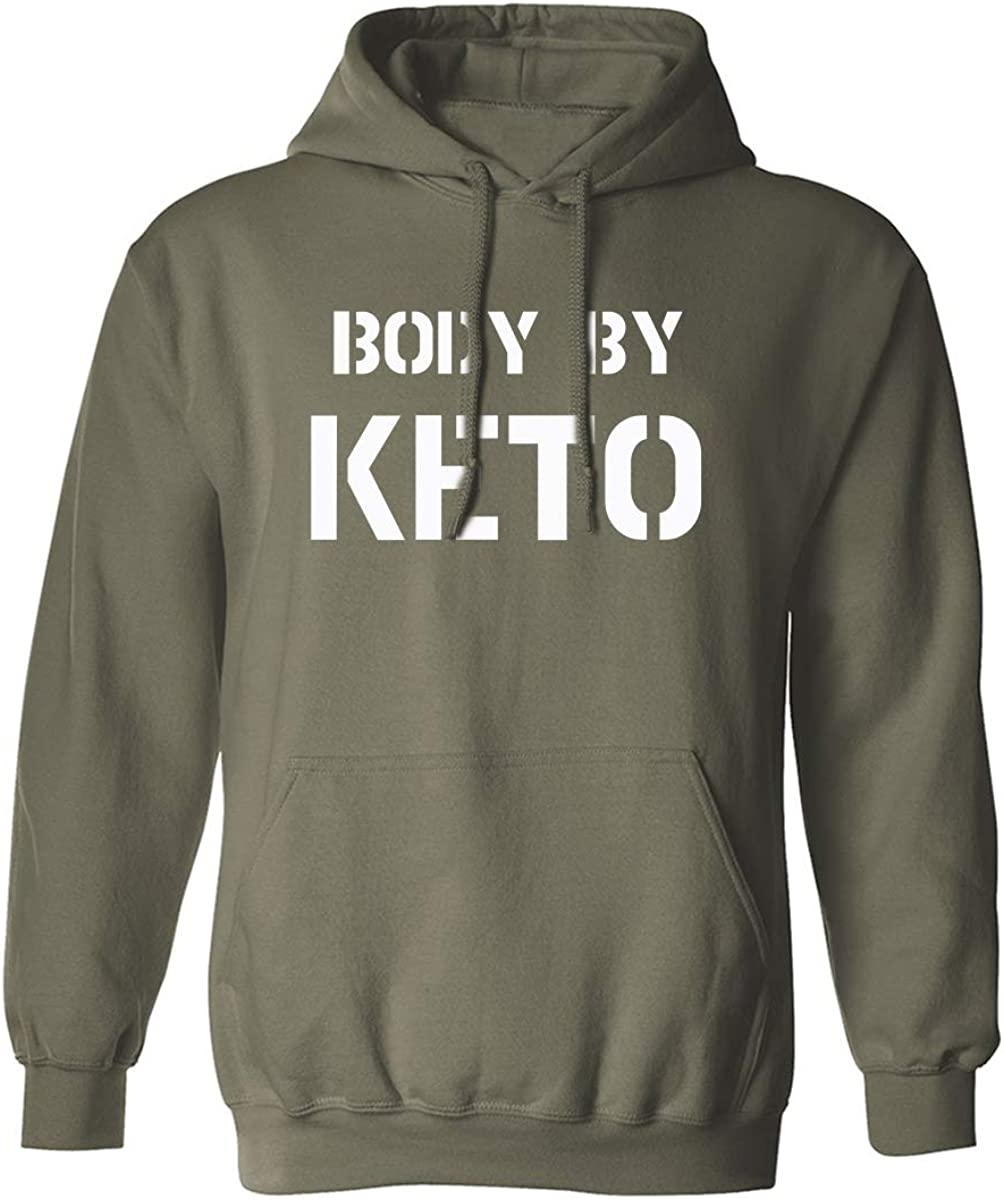 BODY BY KETO Adult Hooded Sweatshirt