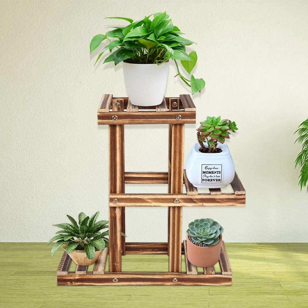 Plant New products world's highest quality popular Stand Rack Flower Thickening Max 64% OFF Multi-Tiers for Design