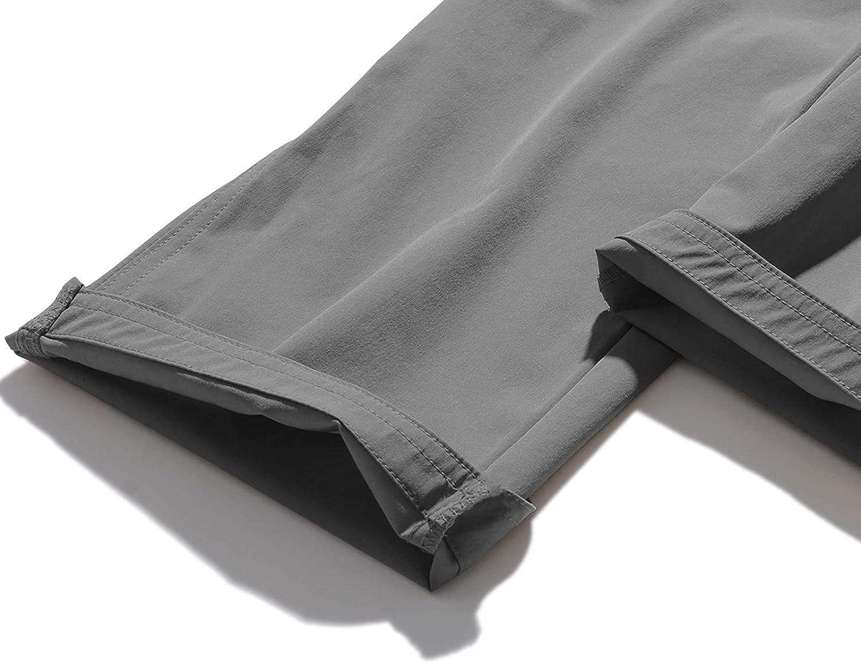 GEEK LIGHTING Mens Outdoor Hiking Pants Quick Dry Lightweight Waterproof Mountain Cargo Pants