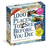1000 Places to See Before You Die Page-a-day Calendar 2021