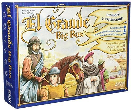El Grande Big Box - Board Game - English by Z-Man Games