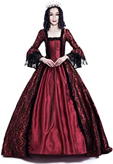 Women's Victorian Rococo Dress Inspiration Maiden Costume