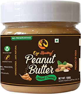 Oye Healthy Pack of 4 Peanut Butter Combo- 100 gm (Creamy,Crunchy,Chocolate,Honey)