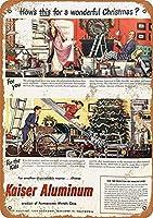 アルミクリスマスおもちゃ メタルポスター壁画ショップ看板ショップ看板表示板金属板ブリキ看板情報防水装飾レストラン日本食料品店カフェ旅行用品誕生日新年クリスマスパーティーギフト