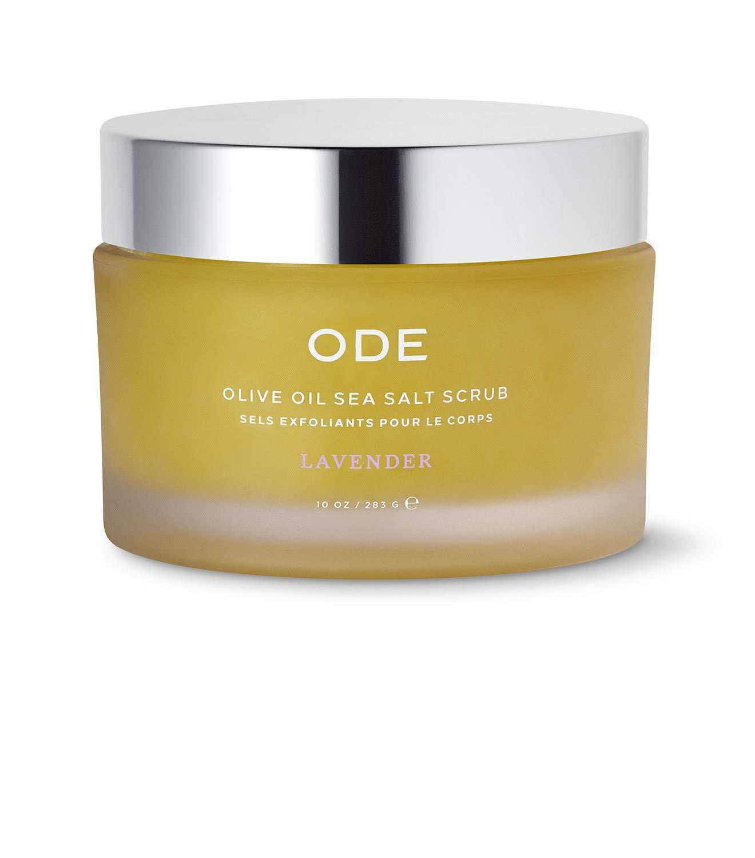 新発売 ODE Beauty Lavender Olive Oil Scrub 10 Salt 激安格安割引情報満載 oz Sea
