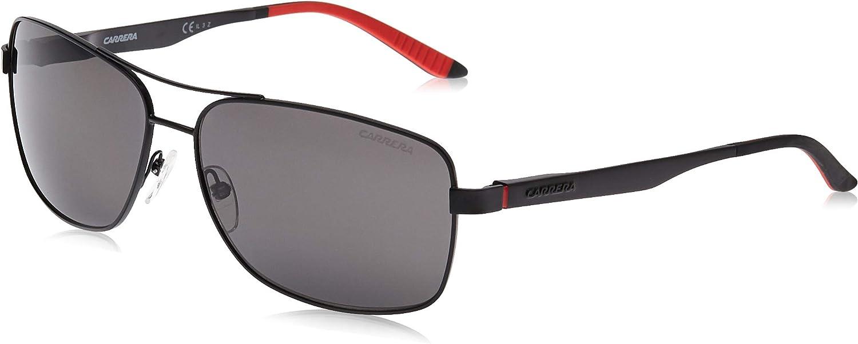Carrera Men's CA8014/S Polarized Rectangular Sunglasses