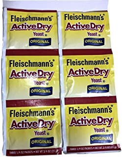 Sponsored Ad - FLEISCHMANN'S ACTIVE DRY Yeast Original 2 Packs of 3 1/4 oz Packets New Selaed