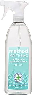 Method Antibacterial Bathroom Cleaner Spray, Water Mint Fragrance, 490 ml