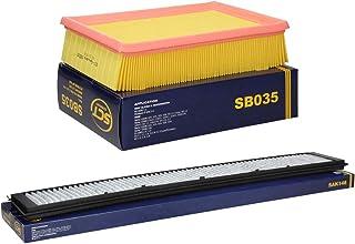 Inspektionspaket Wartungspaket Filterset 1 x Luftfilter 1 x Innenraumfilter mit Aktivkohle Typ Aktivkohlefilter Stabiler Kunststoffrahmen Umlaufende Dichtung