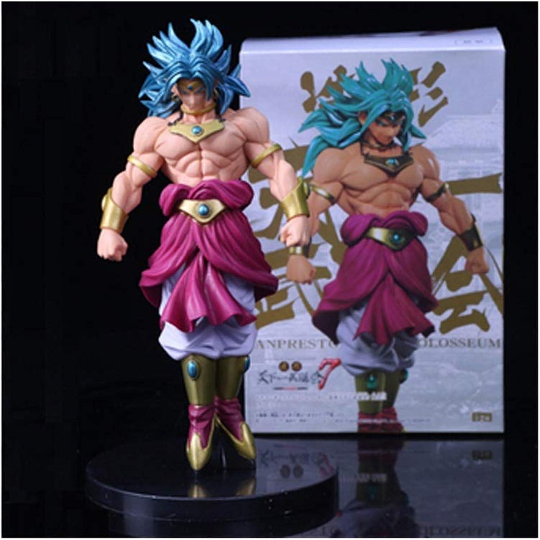Zfggd Dragon Ball Modell Puppet Blau Hair Goku Puppe Modell Anime Decorazione Boutique Charakter Scultura Statua B07P6PC2H2 Charmantes Design | Eleganter Stil