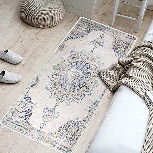 YX-lle Home Teppich Läufer Bereich Teppiche Soft Touch Kleine bis Große Teppiche Wohnzimmer Schlafzimmer Läufer Teppich für Flur Küche Innen Haustür (Vintage 2,60 x 180 cm)
