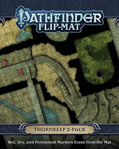 Pathfinder Flip Mat: Thornkeep Dungeon 2-Pack