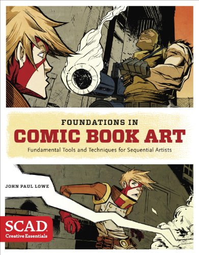 Foundations in Comic Book Art: SCAD Creative Essentials (Fundamental Tools and Techniques for Sequential Artists) (English Edition)