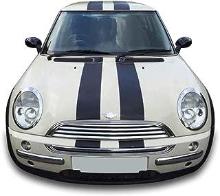 Mini Cooper Type S Checkered Flag Side Stripe Vinyl Decal Sticker Graphics Kit