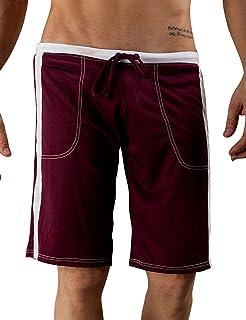 Bestgift Men's Casual Pants Boxer
