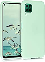 kwmobile TPU Silicone Case Compatible with Huawei P40 Lite - Soft Flexible Protective Phone Cover - Mint Matte