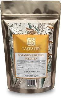 Tapestry Tea Company Botanical Breeze Passion Fruit Black Iced Tea Blend - Family Size Iced Tea Bags