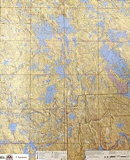 McKenzie BWCA/Quetico Canoe Map Number 7