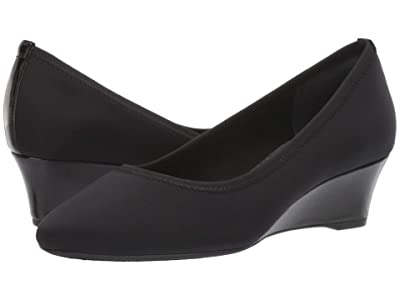 Rockport Total Motion Cerelia Gore Pump (Black Lycra) Women