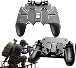Mobile Game Controller,PUBG Six-Finger Game Controller and Joystick with L1R1 L2R2 Gaming Trigger,for 4.7-6.5