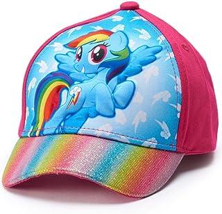 b10ae28a My Little Pony Toddler Girls' Rainbow Dash Baseball Hat,Pink,One SizeFits  Most