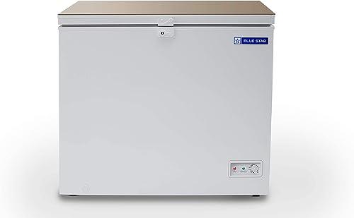 Blue Star Laminated Top Deep Freezer, 100 Ltrs, 8 to -24 degrees, PP liner (CFLTSD100DHPW)