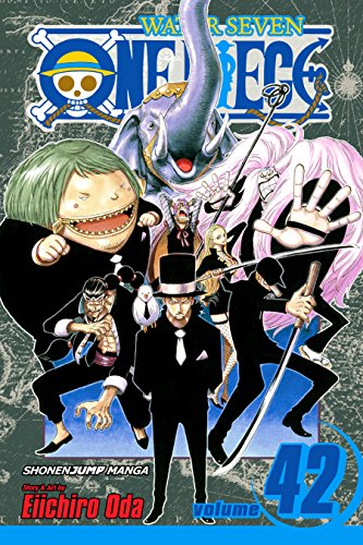 One Piece, Vol. 42: Pirates vs. CP9 (One Piece Graphic Novel) (English Edition)
