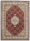 Nain Trading Indo Bidjar 237x172 Orientteppich Teppich Beige/Braun Handgeknüpft Indien