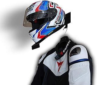 Metal Craft Customs Helmet and Jacket Hanger, Helmet Holder, Wall Mount Helmet Rack, Helmet Bracket