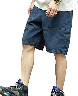 (ティーラヨシン) Trayosin カーゴパンツ メンズ ショートパンツ 膝丈 ハーフパンツ 短パン