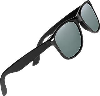 CHEREEKI Polarizzati Occhiali da Sole Occhiali di Protezione Classici UV400 Retrò per Uomo Donna