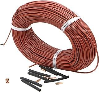 LKXHarleya Underfloor Heating Cable, Portable Infrared Radiant Heating Cable, Underfloor Heating Thermostat Accessory for ...