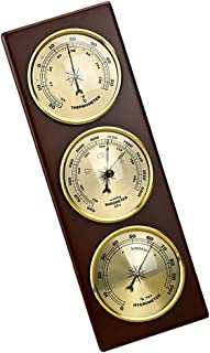 D DOLITY Home Weather Station, Barometer Thermometer Hygrometer, High Accuracy Measuring Gauge for Indoor,Outdoor