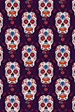 Day Of The Dead Pattern | Sugar Skull Santa Muerte 16: Graph Paper 5x5 Notebook for Day Of The Dead Lovers