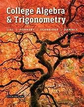 Best college algebra trigonometry textbook Reviews