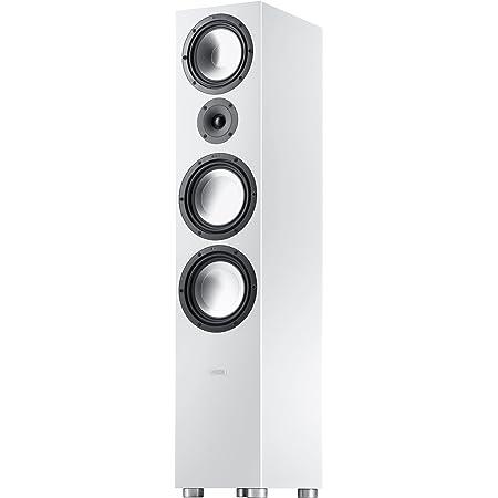 Canton Gle 496 3 Way Bass Reflex Stand Lautsprechersystem Weiß Audio Hifi