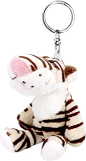 Unique Tiger Doll Keyrings/Keychains for Christmas Gift, Stuffed Plush Dolls Pendant/Hanging Decoration for Key, Purse, Handbag, School Bag and Car