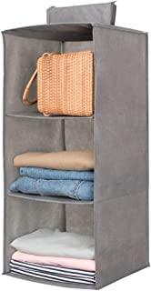 Étagères de rangement suspendues, 3 compartiments Étagères suspendues étagère suspendue en tissu pour la chambre des enfan...