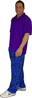 Crazee Wear California Rip/Tide Design Relaxed Fit Pants