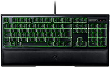 RAZER ORNATA EXPERT: Mecha-Membrane - Individually Backlit Mid-Height Keys - Leatherette Wrist Rest - Gaming Keyboard - Gaming Keyboard