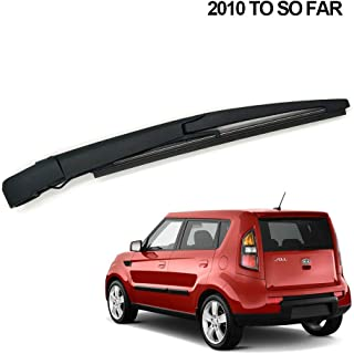 85241-52200 Rear Wiper Arm and Blade Set for Toyota Prius C 2010-2017 Back windshield Wiper Arm Blades Replace OE